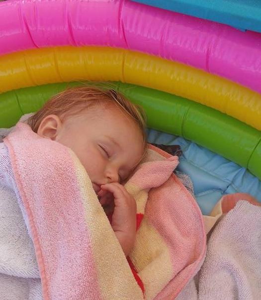 Baby Pool Naps